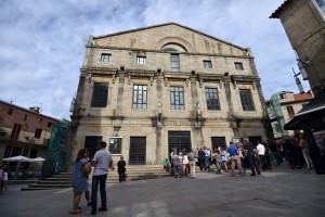 Edificio administrativo da Rúa Don Filiberto