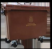 Colector marrón do Concello de Pontevedra
